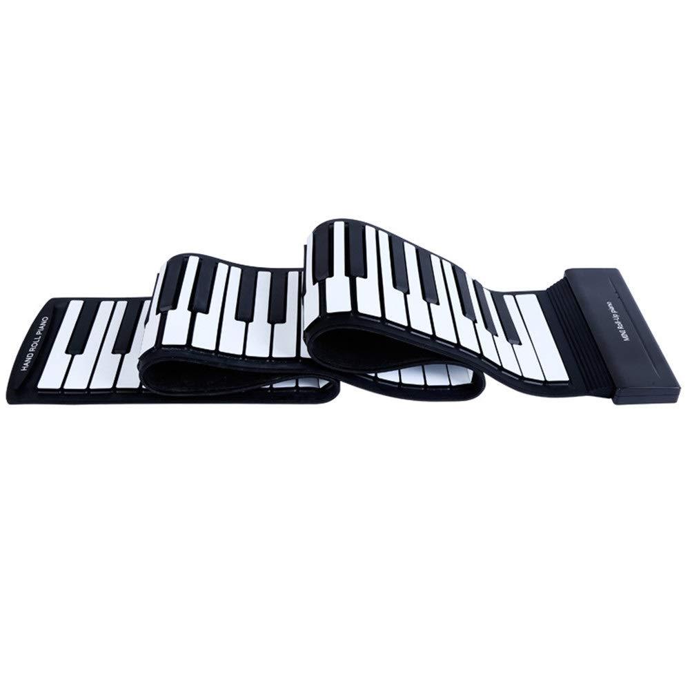Jinzsnk Piano electrónico Digital de Mano para niños Roll Up ...