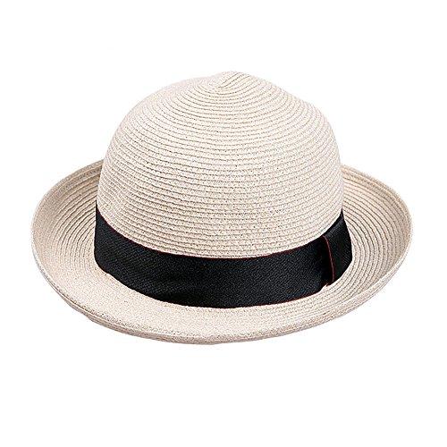 共役ミケランジェロ絶望的な釣り帽子レディキャップ帽子屋外帽子サントラベルビーチストロー帽子