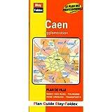 Plan de ville : Caen (avec un index)