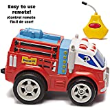 Kid Galaxy PBS Kids Remote Control Fire Truck. Toddler RC Toy Radio Control Car for Preschool Boys & Girls Age 2, 3, 4 & Up, Red. Juguetes Camion De Bomberos Remoto Controle Vehicle