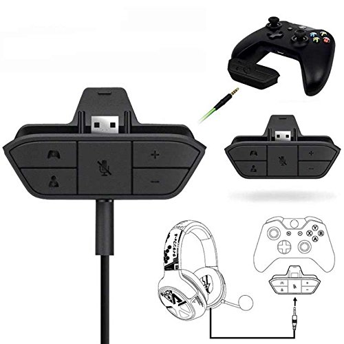 Accreate Best Stereo Headset Adapter Headphone Converter for Xbox One Game Controller