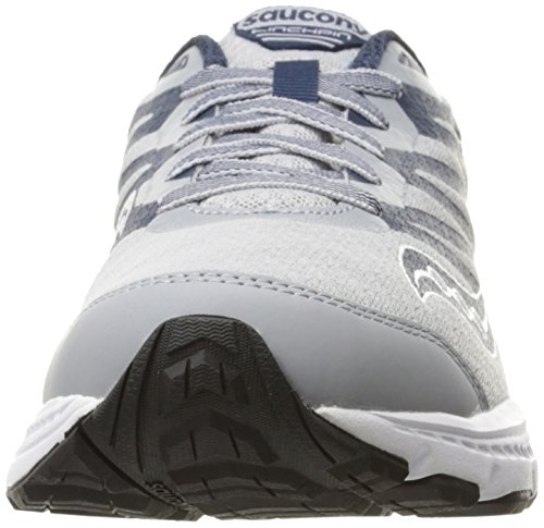 Saucony Men's PowerGrid linchpin Running Shoe Grey/Navy sale 2014 sale find great eQWmaEkbH