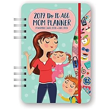 Orange Circle Studio 2019 Do It All Planner, August 2018 - December 2019, Moms Do It All