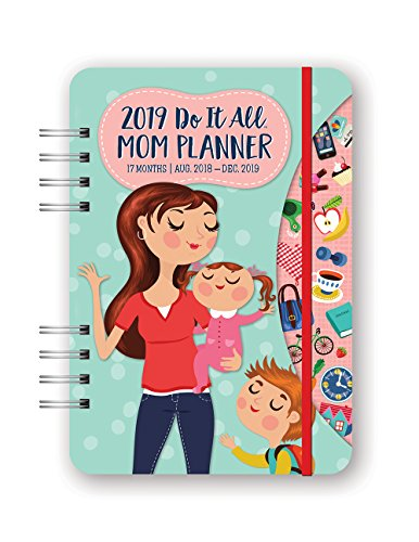 Orange Circle Studio 2019 Do It All Planner, August 2018 - December 2019, Moms Do It All