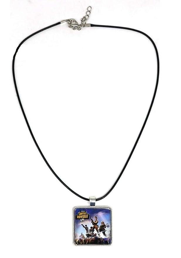 ARUNDEL SERVICES EU Collar Fortnite Fortnite Logo Collar Colgante de Metal Fortnite Logo Personalizado Fortnite Battle Royale Fortnite: Amazon.es: Bebé