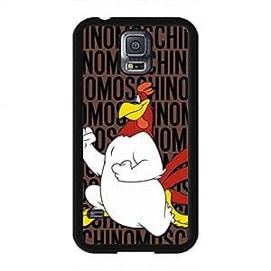 Moschino Cartoon Durable Protective Case Cover for Samsung Galaxy S5,Samsung Galaxy S5,Samsung Galaxy S5 Case Cover,Foghorn Leghorn and Sylvester custodia per cellulare/custodia cover