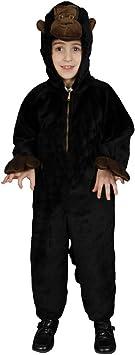 Dress Up America Disfraz de Gorila de Felpa para niños pequeños ...