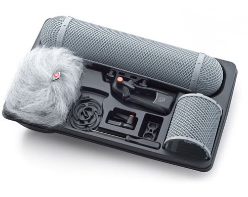 Rycote Full Windshield 2 Kit, with Small Modular Suspension Mount, Windshield #2 & Windjammer #2