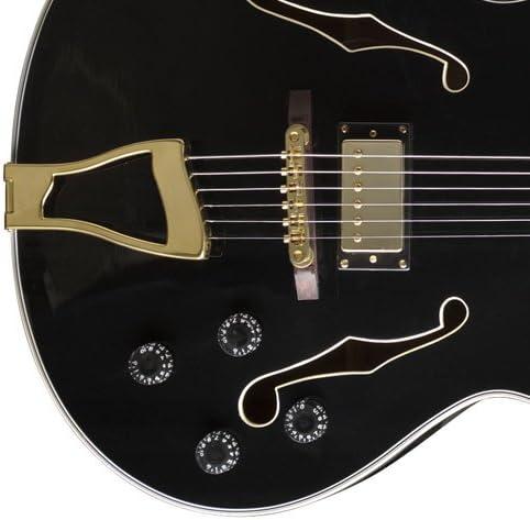Stagg A300-BK guitarra electro-acústica Negro Jazz Standard ...