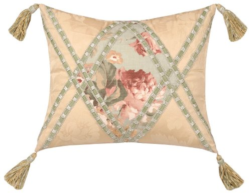 Jennifer Taylor Chesapeake Collection Pillow, 15-Inch by 18-Inch