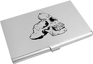 Azeeda 'Moitié du Crâne dans Le Profil' Porte Carte de Visite / Porte Carte de crédit (CH00002789)