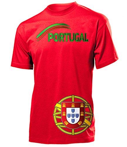 FUSSBALL - PORTUGAL FANSHIRT 5175(H-R) Gr. L