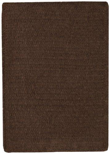 9' Chocolate (Capel Rugs Custom Classics Cross Sewn Rectangle Braided Area Rug, 9 x 9', Chocolate)
