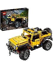 LEGO 42122 Technic Jeep Wrangler 4x4 Speelgoed Auto Model, Off Roader SUV Verzamelaars Bouwset voor Tieners