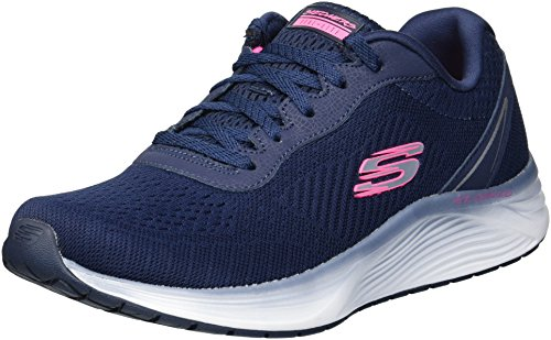 Skechers Women's Skyline Sneaker Navy Blue