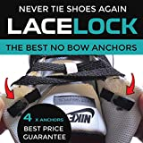 No Tie Shoelace Anchors - Lace Lock - Never Tie Your Shoes Again