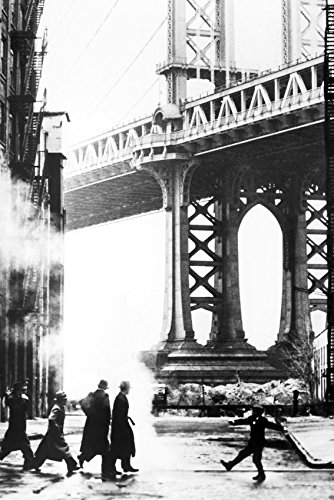 Once Upon A Time In America Bridge Art 18x24 Poster by Generic