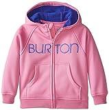 Burton Girls Mini Bonded Full-Zip Hoodie, 3