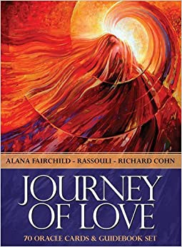 Book Journey of Love Oracle: Ancient Wisdom and healing messages from the Children of the Night by Alana Fairchild (2014-12-31)