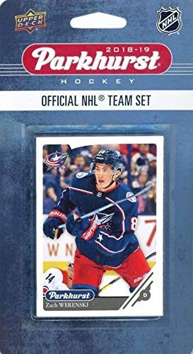 - Columbus Blue Jackets 2018/19 Upper Deck Parkhurst NHL Hockey EXCLUSIVE Limited Edition Factory Sealed 10 Card Team Set including Sergei Bobrovsky, Cam Atkinson & all the Top Stars & RC's! WOWZZER!