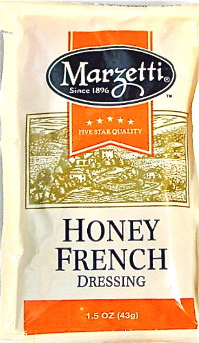 T. Marzetti's Honey French Dressing 1.5 oz Contains Sugar - 25 pack