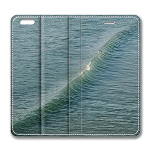 iPhone 6 Leather Case, Personalized Protective Flip Case Cover Wave 3 for New iPhone 6