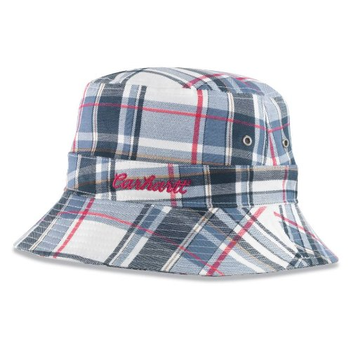 Carhartt Women s Plaid Bucket Hat at Amazon Women s Clothing store  085759bb0