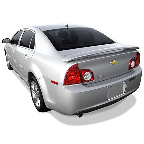 Dawn Enterprises MAL08 Custom Style Pedestal Spoiler Compatible with Chevrolet Malibu - Silver ICE Metallic WA636R (17)