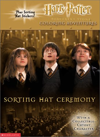Harry Potter and the Sorcerer's Stone Coloring Adventure: Sorting Hat Ceremony