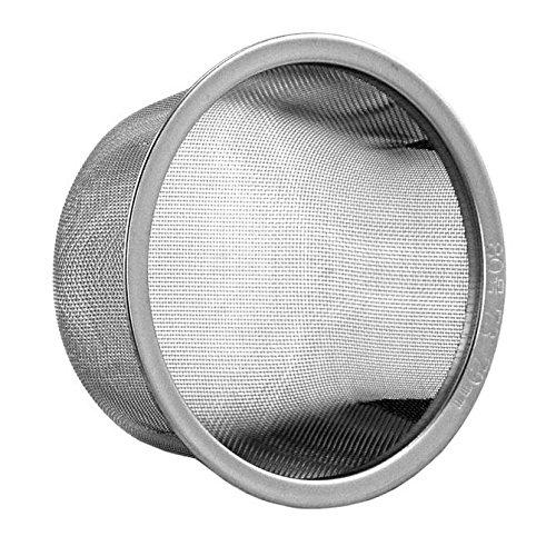 Teapot Tea pot Replacement Stainless Steel Mesh Strainer Infuser (73-79mm diameter) (Teapot Strainer Basket)