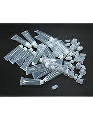 HUELE 15ml Empty Tubes Lip Gloss Balm Cosmetic Mini Containers ,20Pcs