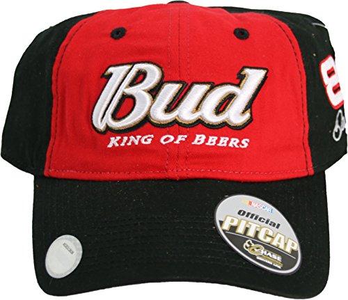"""Dale Earnhardt Jr Budweiser """"Vintage Pit Series"""" #8 Adjustable Hat"""
