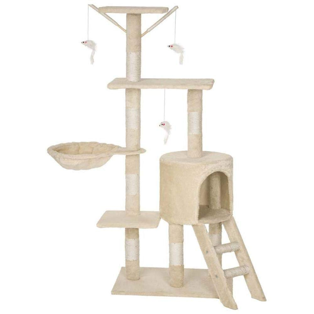 bluee Weiwei Cat climbing cat Litter Cat house cat climbing frame cat jumping platform for game sleeping 50cm 35cm  138cm