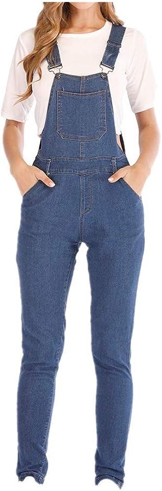 NOBRAND Mamelucos Jumpsuit para Mujer Elegante Harem Jeans Strap Overol Mujeres Vintage Girls Denim Bib Pants