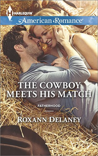 book cover of The Cowboy Meets His Match