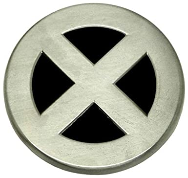 New X Men Gun Metal Belt Buckle Amazon Clothing