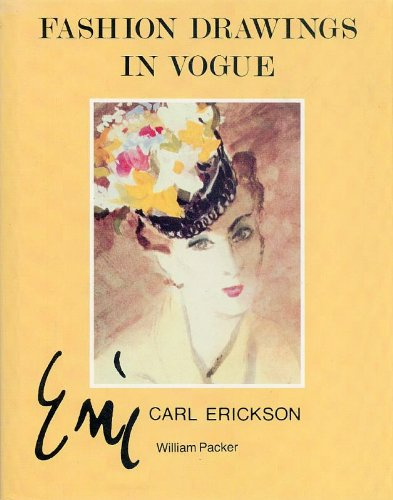 Fashion Drawings in Vogue: Carl Erickson (Carl Costume)