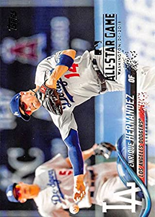 Baseball MLB 2018 Topps All-Star Edition #680 Enrique Hernandez Dodgers