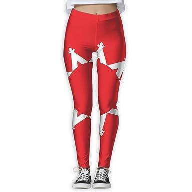 Amazon.com  EWDVqqq Girl Yoga Pant Flag Oglala Sioux Tribe High Waist  Fitness Workout Leggings Pants  Clothing 5a054135a