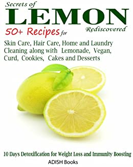 Lemon Recipes Cleaning Lemonade Desserts ebook product image