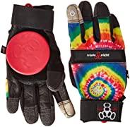 Triple Eight Downhill Longboard Slide Gloves for Downhill Skateboarding (1-Pair)