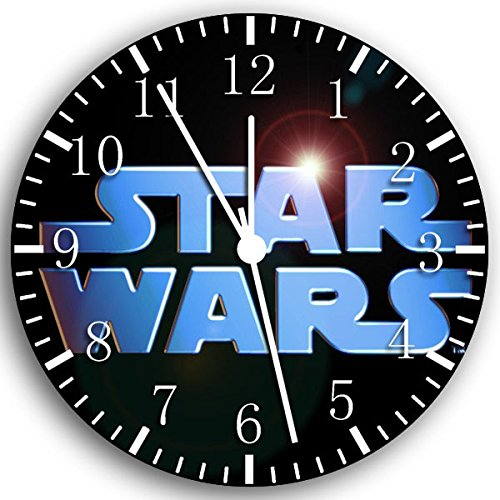 Borderless Star Wars Frameless Wall Clock W37 Nice for Decor Or Gifts