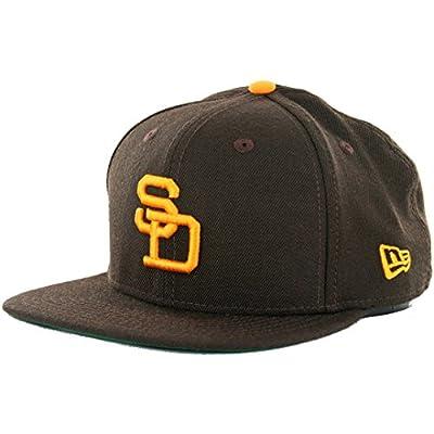 "New Era 950 ""1978 All Star"" San Diego Padres Snapback Hat (Brown/Gold) MLB Cap"