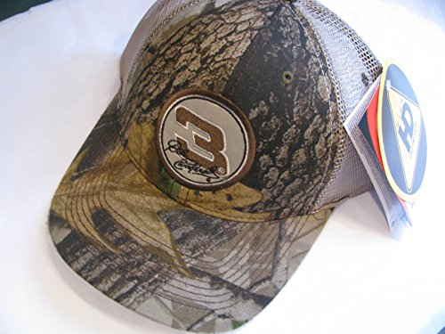 Distressed/Worn Look Effect Dale Earnhardt Sr #3 Realtree Camoflague Camo Trucker Hat Cap Partial Mesh In Back One Size Fits Most OSFM Velcro Strap Chase (Realtree Worn Cap)