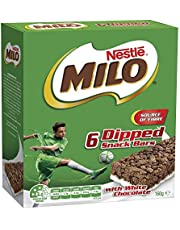 MILO Energy Snack Bar with Milk, 160g (Pack of 6)