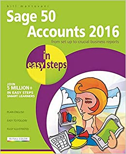 Book Sage 50 Accounts 2016 in easy steps