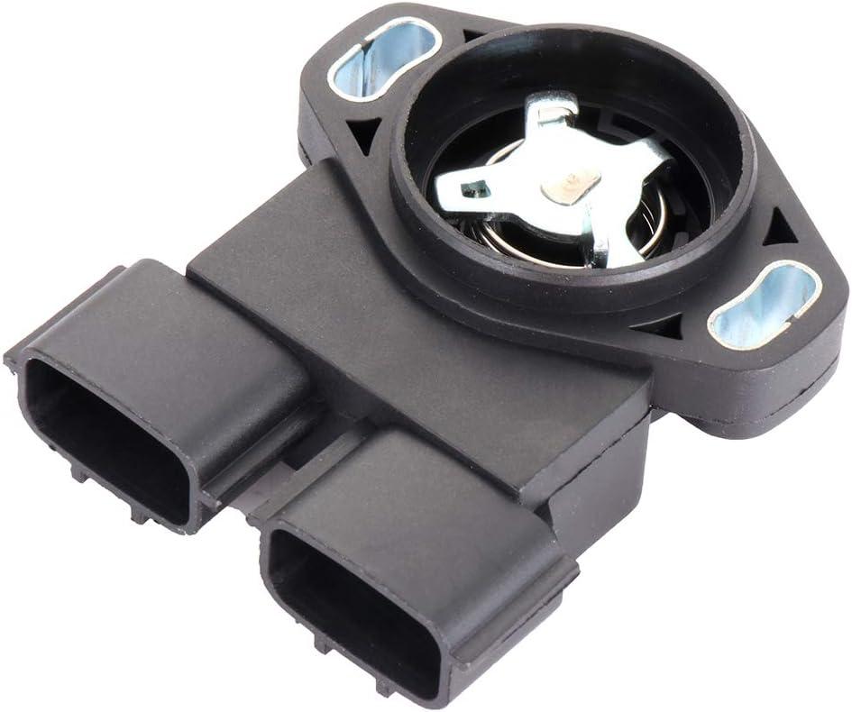 SELEAD Automotive Engine Throttle Position Sensor Fit For 1997-2000 Infiniti QX4 1999-2004 Nissan Frontier 1996-2000 Nissan Pathfinder 2000-2004 Nissan Xterra SERA486-08 TPS sensor 2PCS