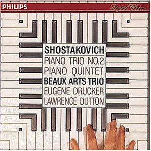 """Release """"Piano Trio no  2 / Piano Quintet"""" by Shostakovich"""