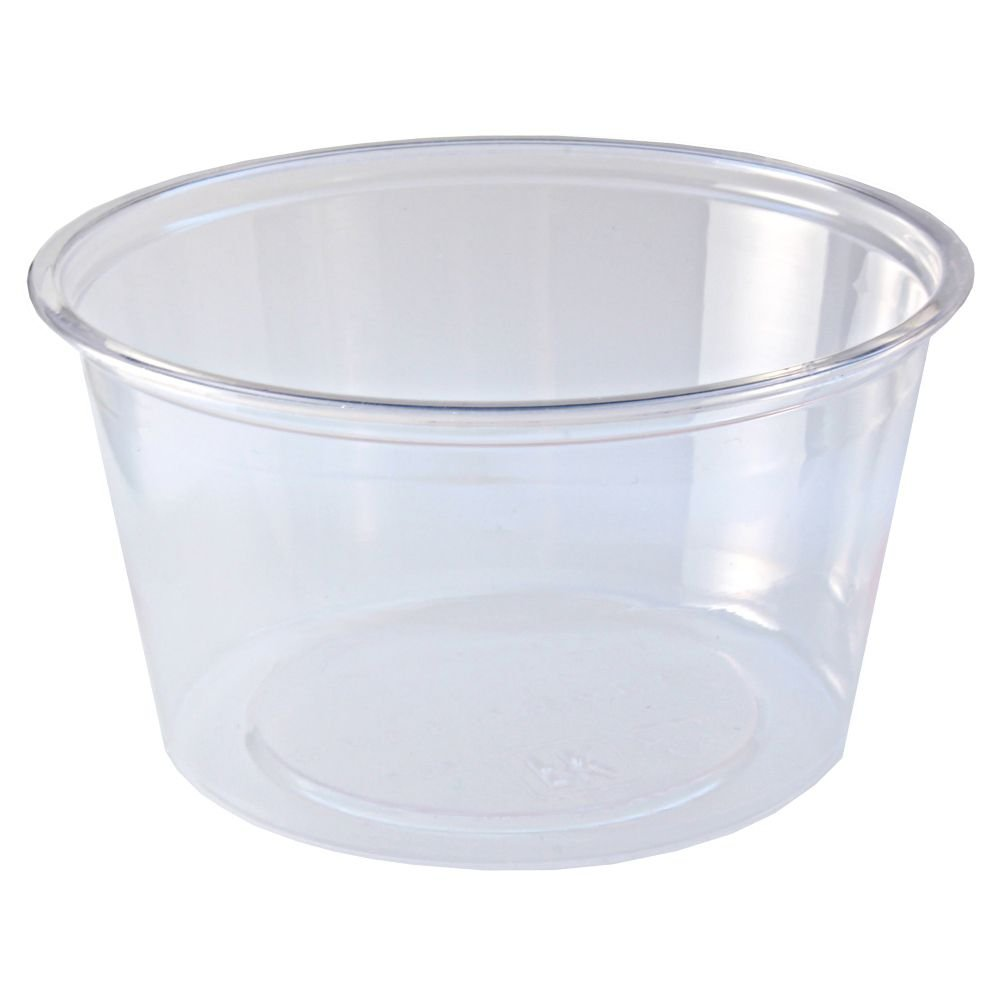 Fabri-Kal 9509306 Greenware 4 Ounce Clear Portion Cup - 2000 / CS