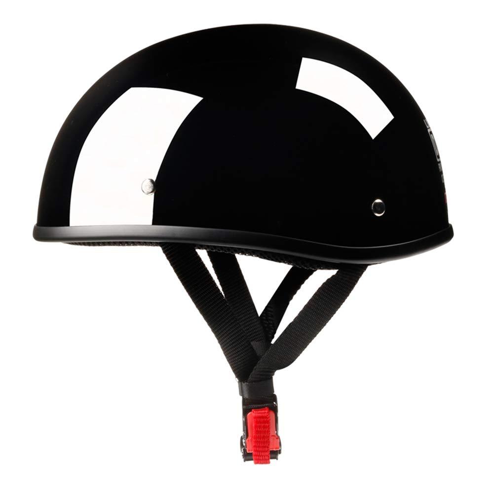 Adult Motorcycle German Style Half Face Helmet Motocross Bike Vintage Open Face Half Helmet Harley Moto Motorcycle Helmets